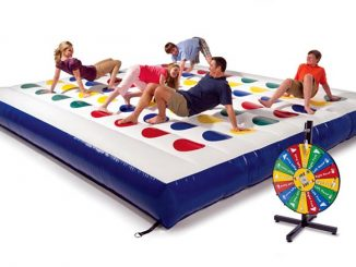 Giant Inflatable Outdoor Twister Game