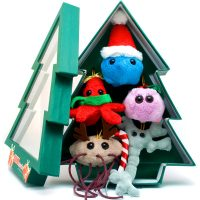 Giant Microbes Christmas Tree Ornaments