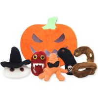 Giant Microbes Halloween Plush Set