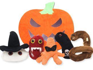 Giant Microbes Halloween Set