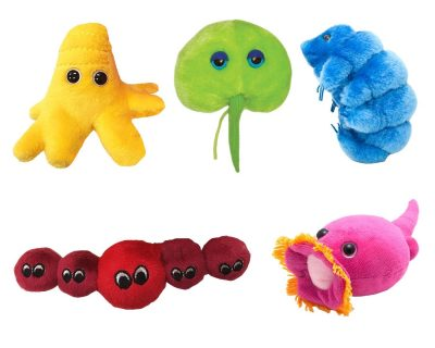Giant Microbes Ocean Dwellers Plushes