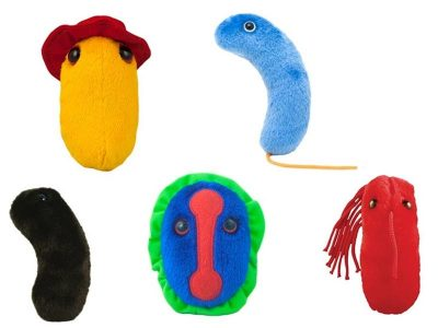 Giant Microbes Plagues From History Plushes