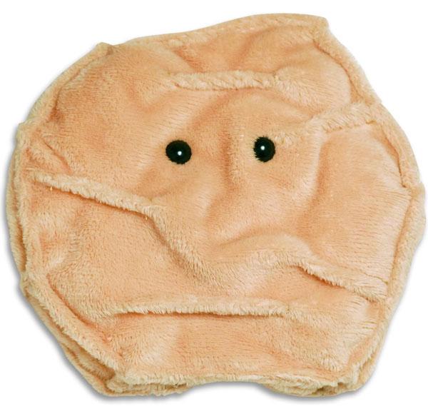 Giant Microbes Skin Cell (Keratinocyte) Plush Toy