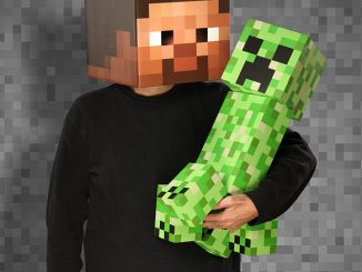 Giant Minecraft Foam Creeper