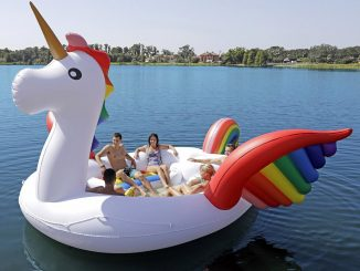 Giant Party Island Unicorn Float