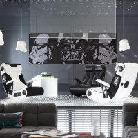 Giant Star Wars Panoramic Wall Mural