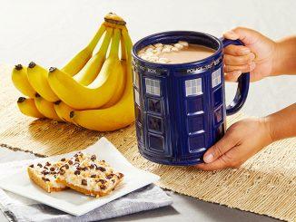 Giant TARDIS Mug