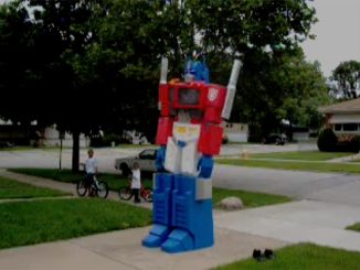 Giant Transformers Optimus Prime Costume