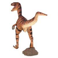 Giant Velociraptor Statue