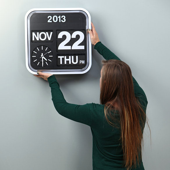 Giant Wall Flip Clock