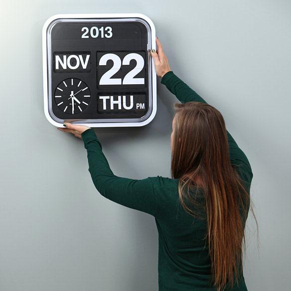 Giant Wall Flip Clock