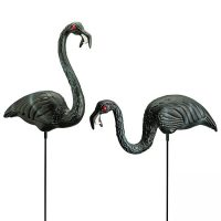 Giant Zombie Flamingos