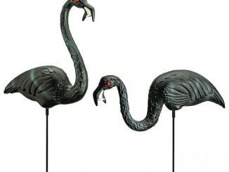 Giant Zombie Flamingos