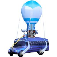 Gigantic Fortnite Battle Bus Inflatable