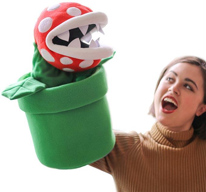 Gigantic Super Mario Piranha Plant Puppet