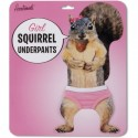 Girl Squirrel Underpants