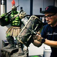 Gladiator Hulk Premium Format Statue