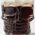Glass Skull Stein