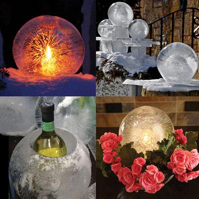 Globe Ice Lantern Kit Geekalerts