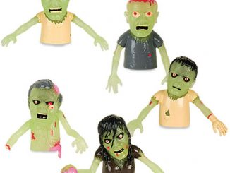 Glow Finger Zombies Puppets