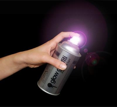 Glow Graffiti Light Can