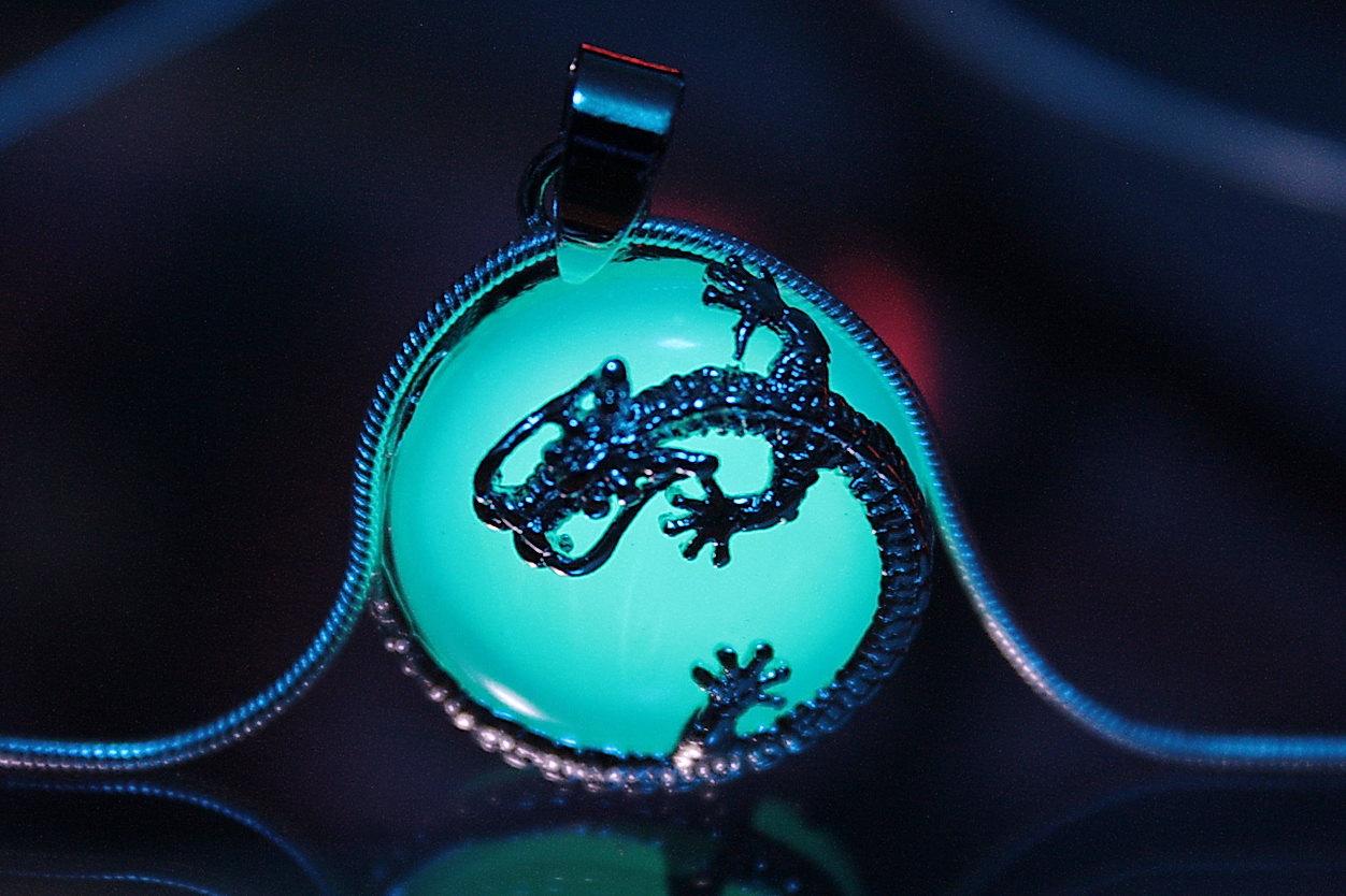 Glow In The Dark Dragon Jewelry