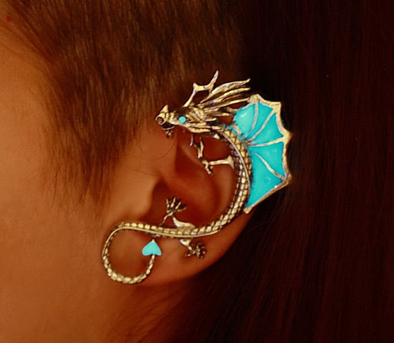 How to Use Dragon Earrings