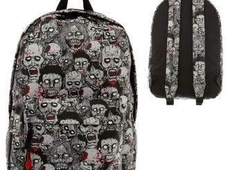 Glow-In-The-Dark Zombie Backpack