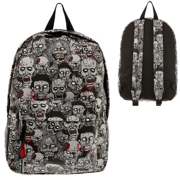 Glow-In-The-Dark Zombie Backpack
