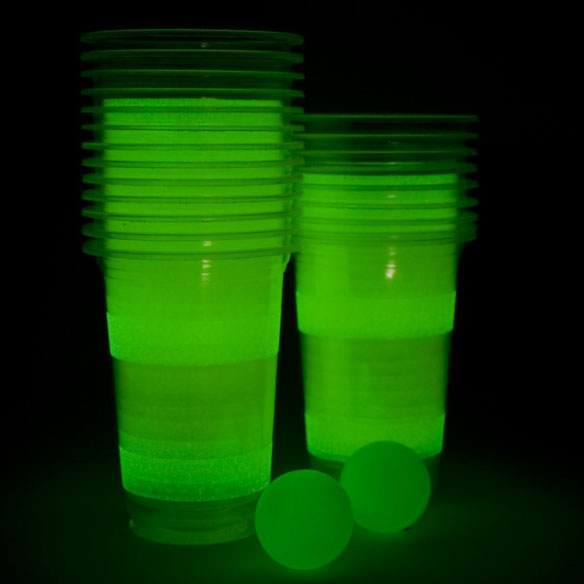 Glow in the Dark Beer Pong