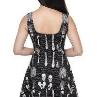 Glow-in-the-Dark Skeleton Dress