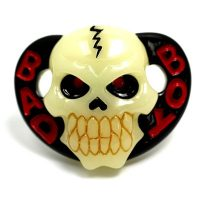 Glow in the Dark Skull Pacifier