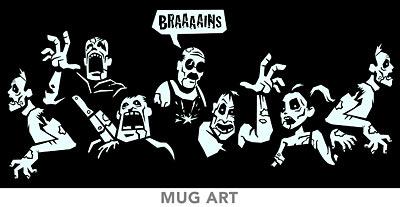 Glow in the Dark Zombie Mug