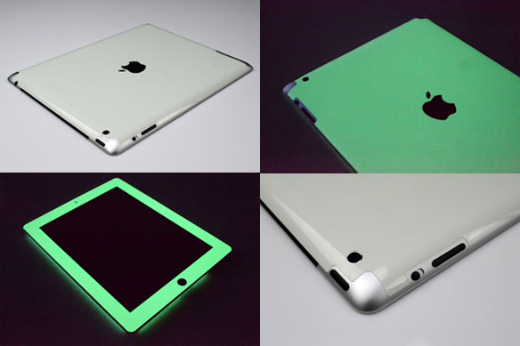 Glow in the Dark iPad Skins