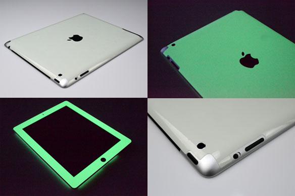 Glow in the Dark iPad Skins
