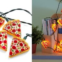 Glowing Out for Pizza String Lights