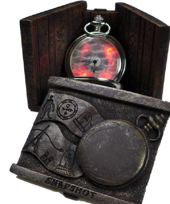 Glowing Steampunk Pocket Watches case