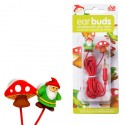 Gnome & Mushroom Earbuds