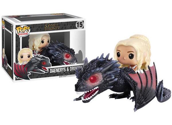 GoT Drogon Pop Vinyl Vehicle with Daenerys Figure