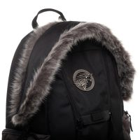 Game of Thrones Stark Faux Fur Backpack