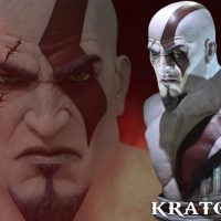 God of War Kratos Life Size Bust