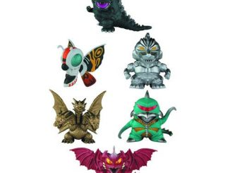 Godzilla Chibi Super Deformed Mini-Figure 6-Pack