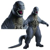 Godzilla Deluxe Adult Air Blown Costume