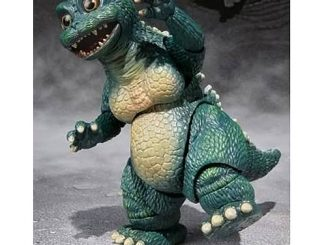 Godzilla Little Godzilla and Crystal Set of Statues