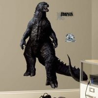 Godzilla Peel and Stick Wall Decal