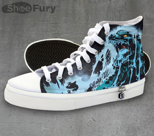 Godzilla Rising Tide Shoes