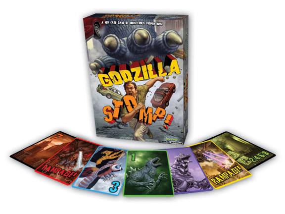 Godzilla Stomp Card Game