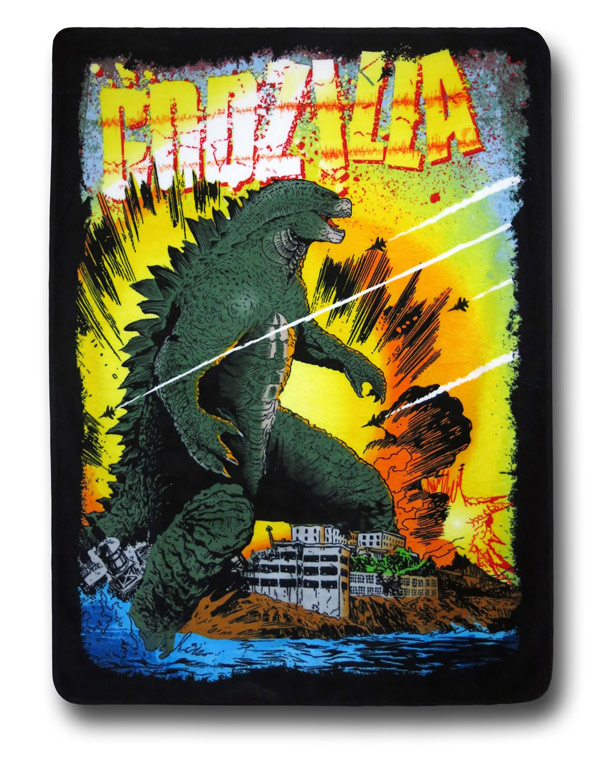 Godzilla-Throw-Blanket