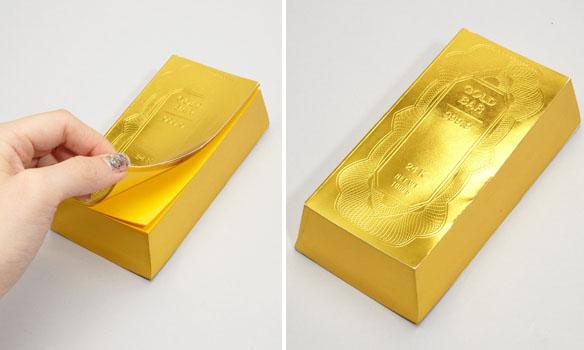 Gold Bar Notepad