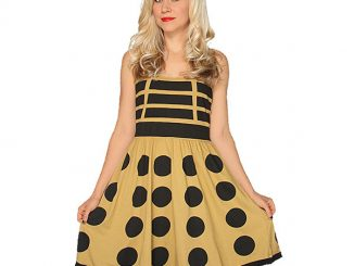 Gold Dalek A-Line Dress